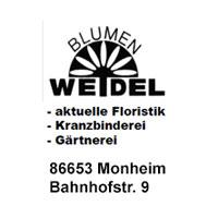 Banner Blumen Weidel